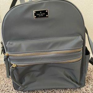 KATE SPADE Large grey backpack - EUC